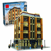 New 7968Pcs Genuine MOC Series The Apple University Set Building Blocks Bricks Educational Children Toys