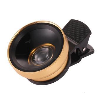 Набор для камеры с объективом для макросъемки и широкоугольным объективом 0,45x