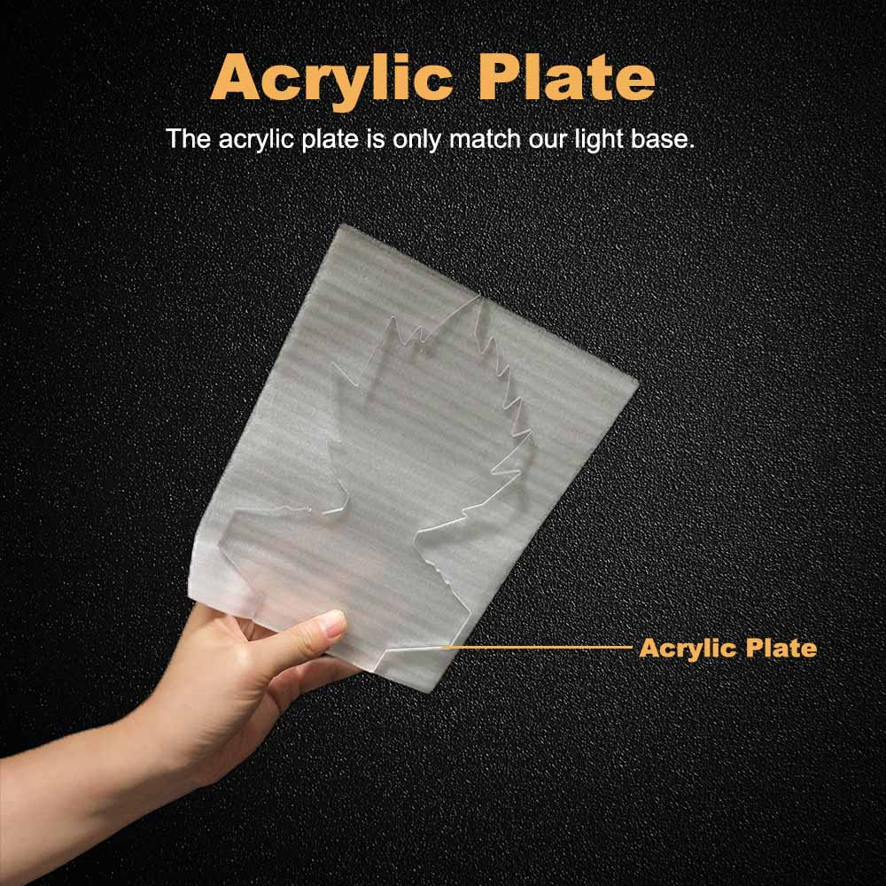6 acrylic plate