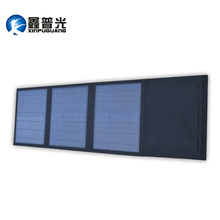 Xinpuguang 36W 18V Solar Panel Charger 3 Fold Portable Efficient Mono Cell USB 5V 2A Output