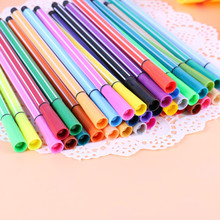 24 colors gel pen Colorful caneta cute canetas material escolar stationary kalem boligrafo stylo canetas coloridas escolar 60 pcs set gel pen caneta material escolar canetas lapices kawaii caneta boligrafo cute kalem unicorn canetas em gel stylo