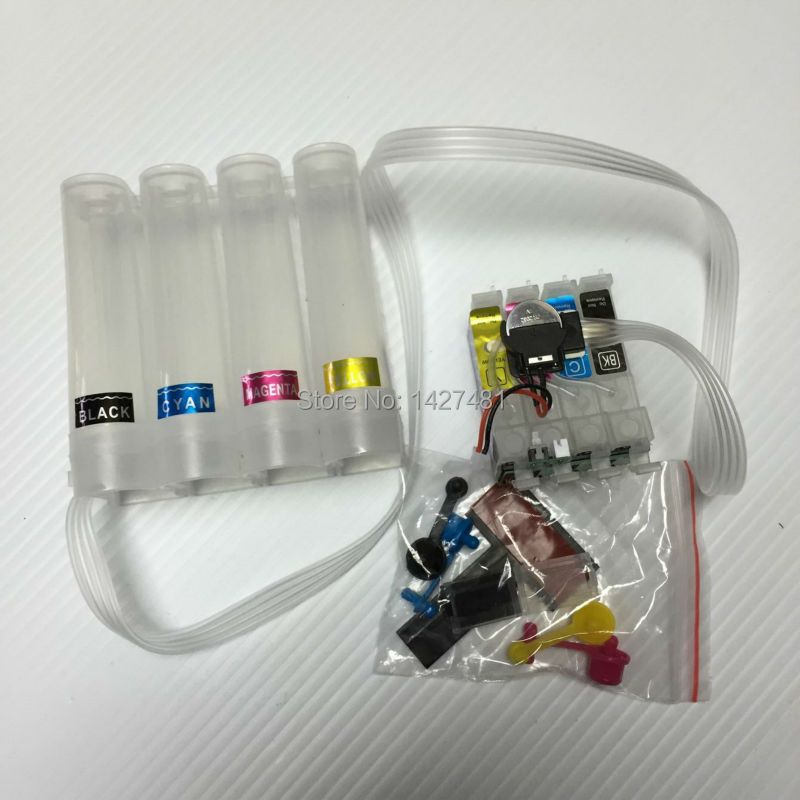 ФОТО CISS T2521 252XL T252XL For Epson WF-5620 WF- 5690 WF-3620 WF-3640 WF-7610 WF-7620 WF-7110 WF- 5190 with chip