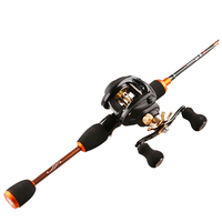 UL light high carbon rod telescopic 1.8m bait rod high quality outdoor rotating bait casting fishing rod sale