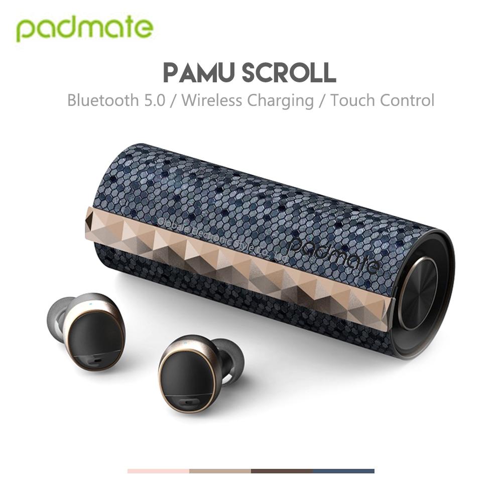 Original Padmate PaMu défilement Bluetooth sans fil écouteurs étanche IPX6 écouteurs contrôle tactile