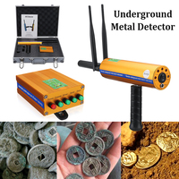 1Set Double antenna AKS 3D Metal Detector Upgraded version Long Range Metal For Outdoor Detector gold silver copper