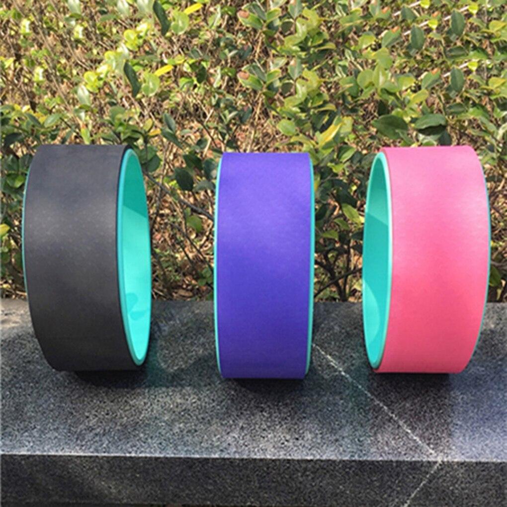 Pilates cercle rouleau anneau corps-façonnage étirement exercice Yoga roue Fitness entraînement dos plier équilibre entraînement outil