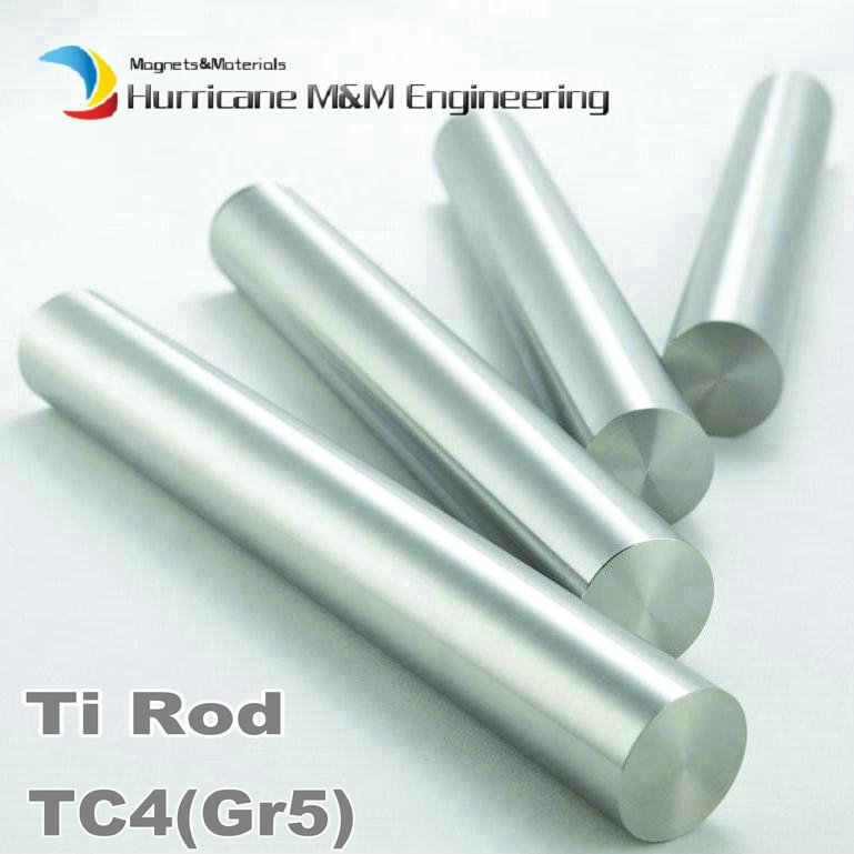 ФОТО 30x100 mm TC4 Titanium Alloy Cylinder Industry Experiment Research DIY GR5 Ti Rod Titanium Alloy bar