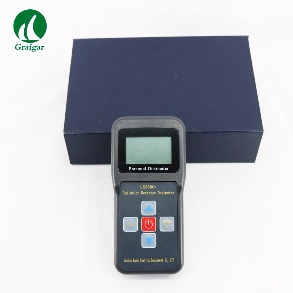 LK3600+ Personal Nuclear Radiation Detector Portable Dosimeter Alarm With high sensitivity