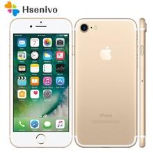 Лучшая цена~ разблокирован Apple iPhone 7 3 ГБ Оперативная память 32/128 ГБ/256 ГБ Встроенная память quad-core отпечатков пальцев 12MP IOS LTE 12.0mp Камера мобильного телефона