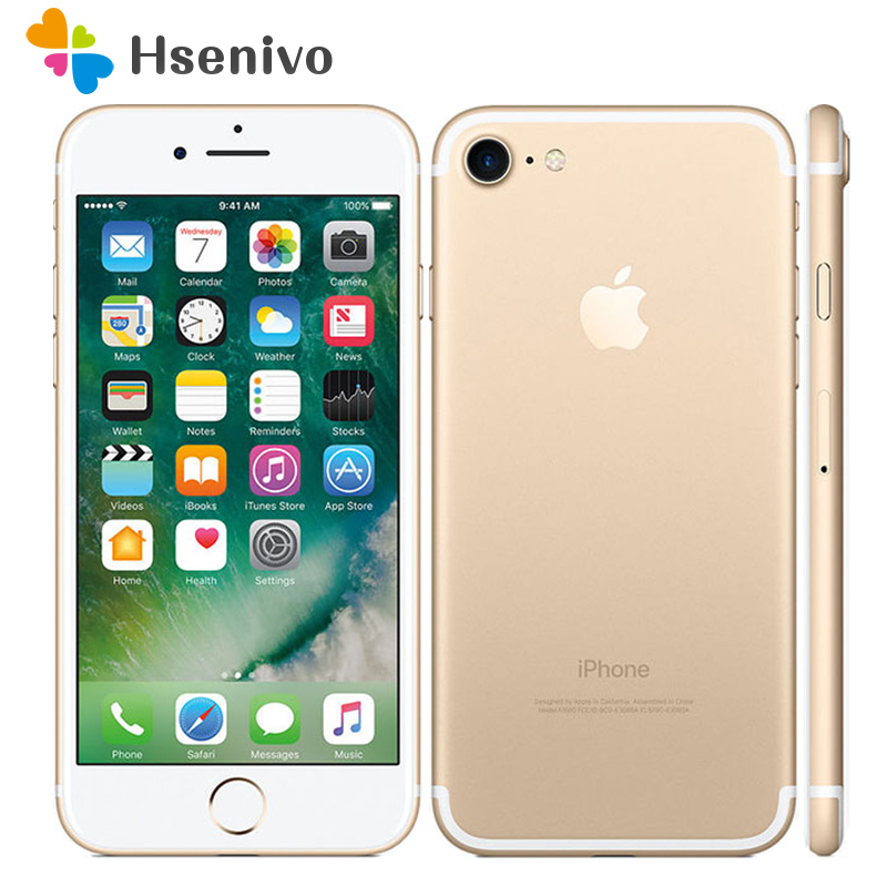 Best Price~Unlocked Apple IPhone 7 3GB RAM 32/128GB/256GB ROM Quad-Core Fingerprint 12MP IOS LTE 12.0MP Camera Mobile Phone