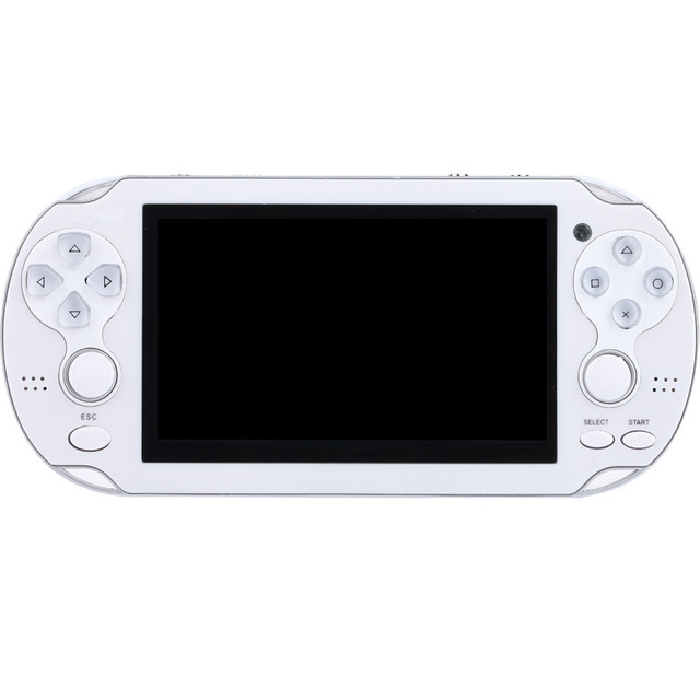 New Handheld Game Console 8GB Memory 32 Bit portable video game double Rocker built-in 1000 free games Support TV Out Put 5