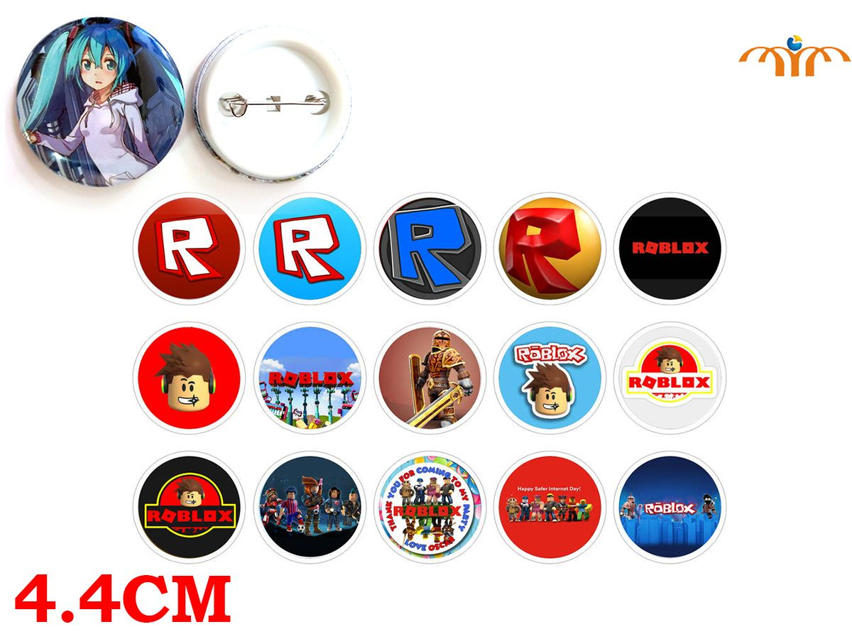 Giancomics Hot Roblox Game Badge Pins Set Badges Cartoon Brooch Chest Jewelry Cosplay Costume Collection Otaku Ornament Gift