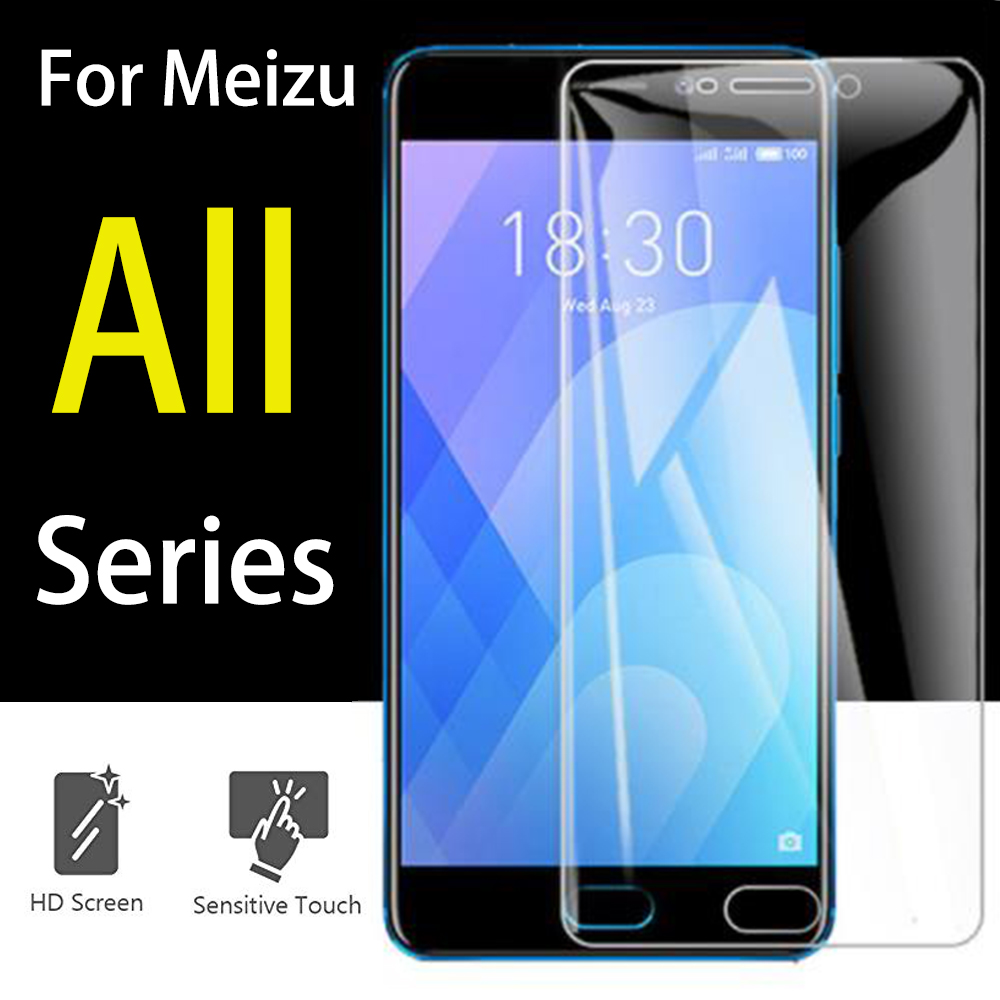 For meizu m6 m5 note glass Maisie meuzu meizy m6s 5c glas protective film m5note m6note screen protector 9h Maisie 5 6 tremp image