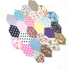New Telas Patchwork Cotton Fabric Non Slip Fabric Print Fabric Floral Series Sewing Fabric Bundle DIY Handmade 100pcs/lot 4*3cm(China)