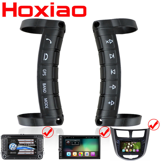 Universal remote control Car steering wheel button remote control car navigation DVD / 2 din android/Window Bluetooth wireless
