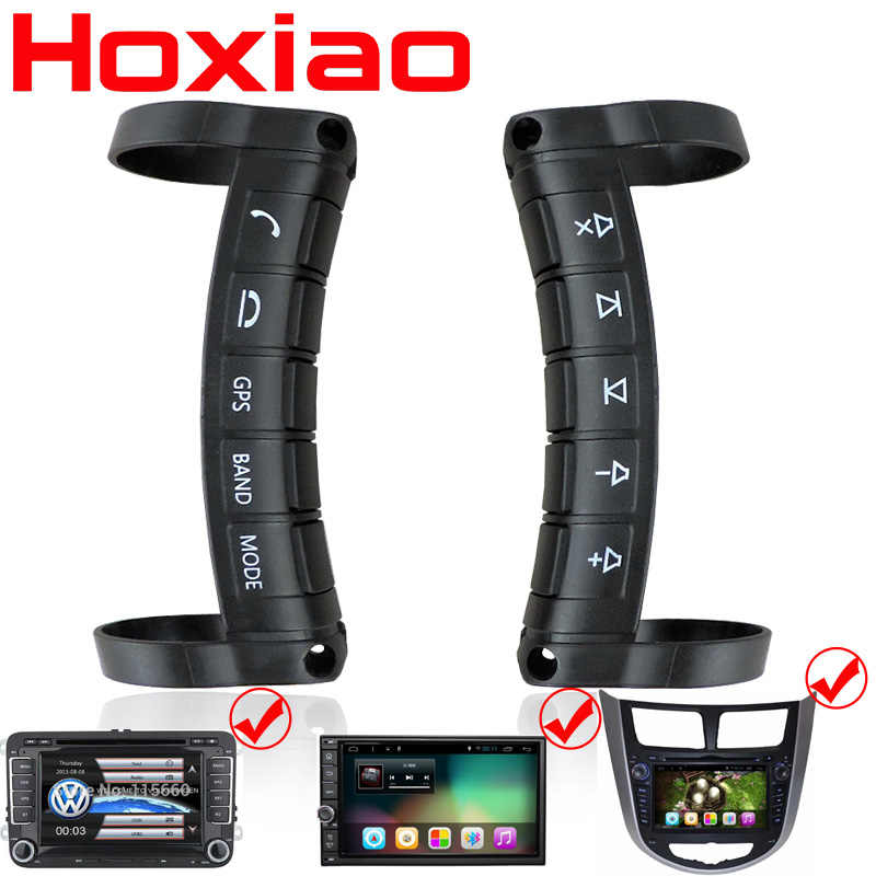 Universele afstandsbediening Auto stuurwiel knop afstandsbediening auto navigatie DVD/2 din android/Venster Bluetooth draadloze
