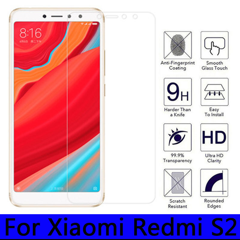 2.5D Tempered Glass for Xiaomi Redmi S2 9H High Quality Explosion-proof Protective Film Screen Protector for Red Mi S 2 RedmiS2