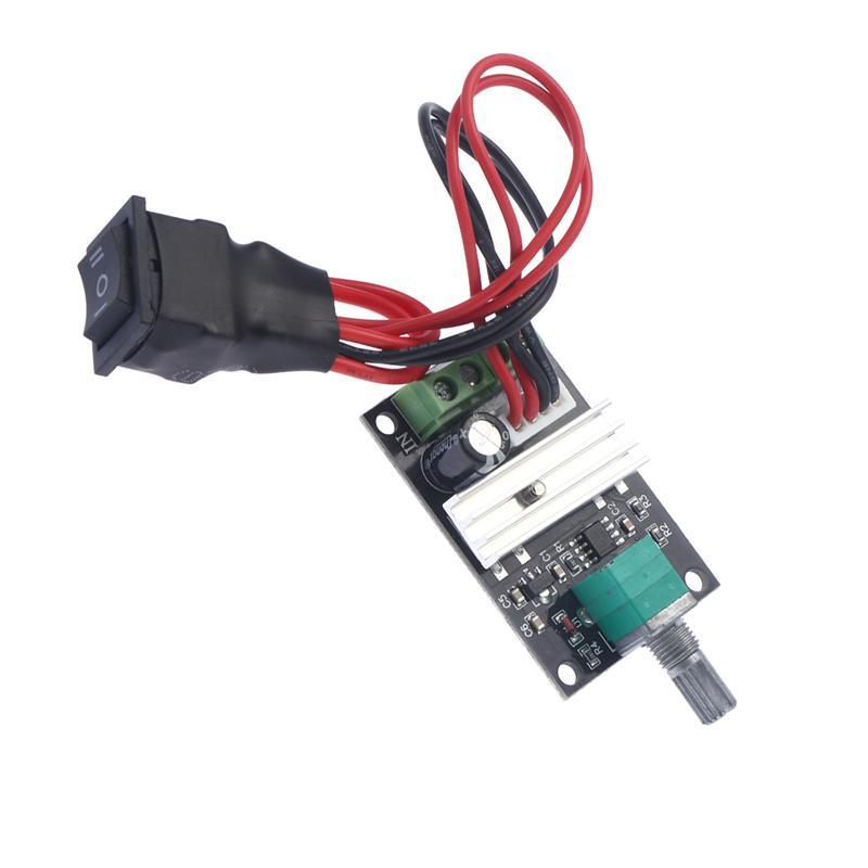 6V//12V//24V//28V 3A 80W PWM 1203BB DC Motor Speed Controller Adjustable Reversible