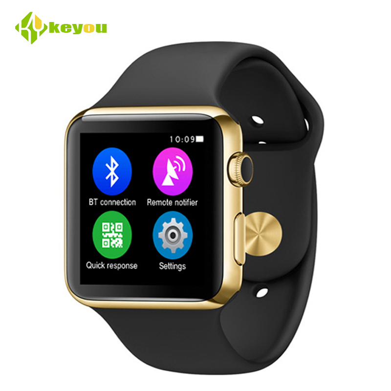 2017 Fashion smart watch W51 bluetooth 5.0 GPS tracker Wrist watches for  ios android support sim-karte MTK2502C Watch men wireless restaurant calling system 5pcs of waiter wrist watch pager w 20pcs of table buzzer for service