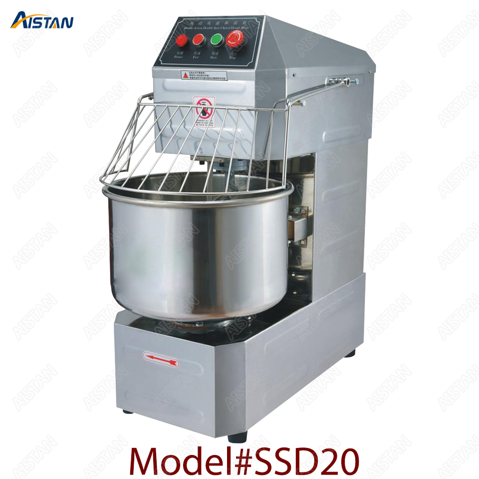 SSD20 20L/30L electric commercial 2-speed spiral dough mixer food mixer machine 2