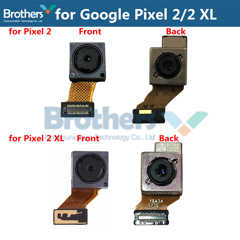 Back Camera For Google Pixel 2 2 XL Rear Big Camera For Google Pixel 2 XL Camera Module Flex Cable MT8 Replacement Part Test Top