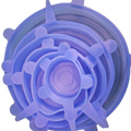 Tapa-cuenco tapa-silicona tapas elásticas silicona cubierta Pan cocina vacío tapa sellador Universal silicona Saran alimentos envoltura