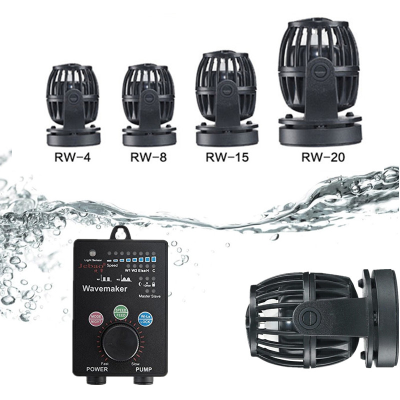 100V-240V Aquarium Wave Maker Propeller Water Pump Wireless Link Master/Slave Flow Maker Pump for Marine Coral Reef Fish Tank100V-240V Aquarium Wave Maker Propeller Water Pump Wireless Link Master/Slave Flow Maker Pump for Marine Coral Reef Fish Tank