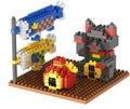 Diamante Gato Afortunado Japonés pequeñas partículas bloques insertados lucha puzzle micro mini juguete creativo del regalo DIY