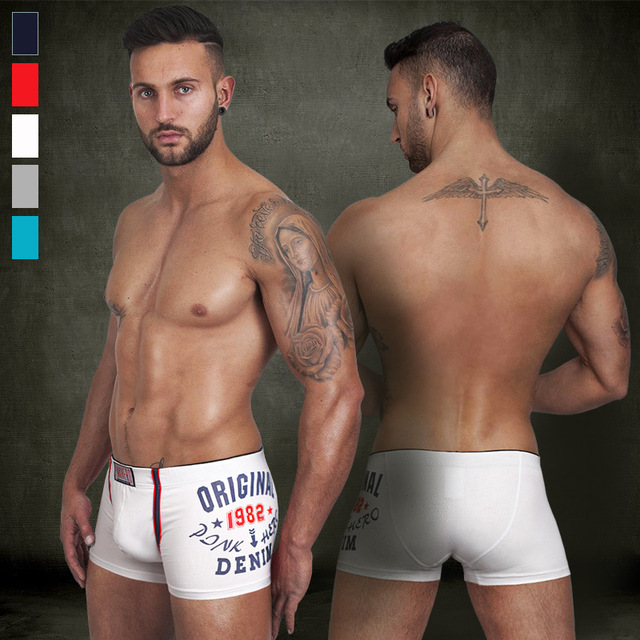 PINGK HEROES Men's Boxer Shorts Polyester Sexy boxershorts Men mens trunks Underwear male boxers roupa interior dos homens