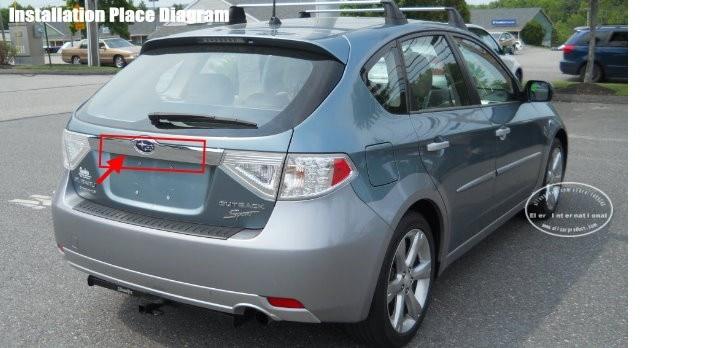 Liislee Автомобильная камера для Subaru Outback sport Sedan/Wagon 2011~ /камера заднего вида/NTST PAL/свет номерного знака OEM