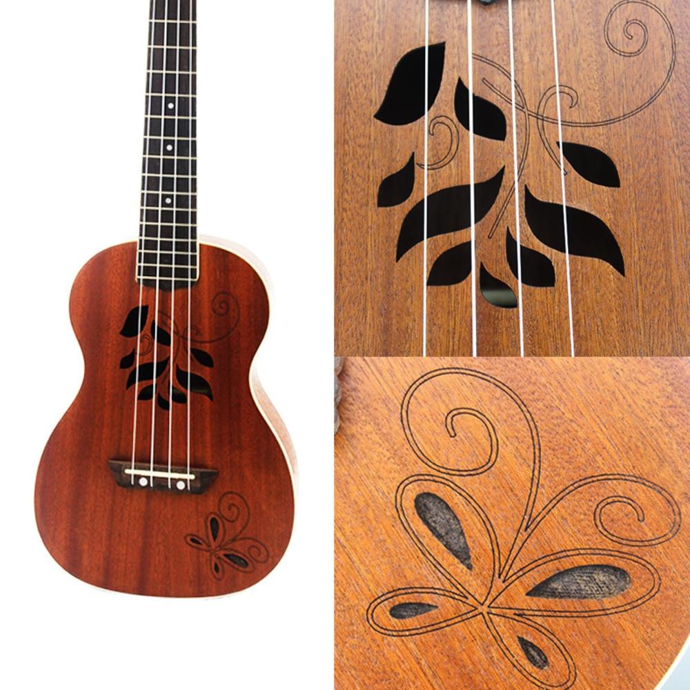 23 tums Uicker i liten gitarr Woodiness Vuk Lily Four Stringed musik - Skola och pedagogiska förnödenheter - Foto 2