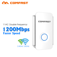 1200Mbps Wireless WiFi Repeater WiFi Signal Amplifier Wireless Router Wi Fi Range Extender Expand Booster AP Comfast CF WR752AC