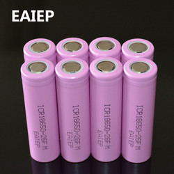 8 шт./лот, Оригинал 18650 3,7 В 2600 мАч, литий-ионные аккумуляторы EAIEP, аккумуляторная батарея, ICR18650-26FM, безопасные батареи для промышленного исполь...