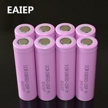 8 pçs/lote EAIEP Originais 18650 3.7 V 2600 mAh baterias de Iões de lítio recarregável Bateria ICR18650-26FM seguro baterias uso Industrial