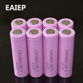 8pcs/lot Original 18650 3.7V 2600mAh LI-Ion batteries EAIEP rechargeable Battery ICR18650-26FM safe batteries Industrial use