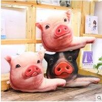 Pig head emoji pillow soft toy unicorn stuffed plush animals spongebob ty plush animals soft pig valentine's day present