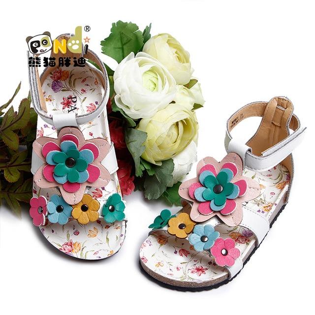fde8ebe5bf9 Female child sandals princess shoes fashion birkenstock girls sandals