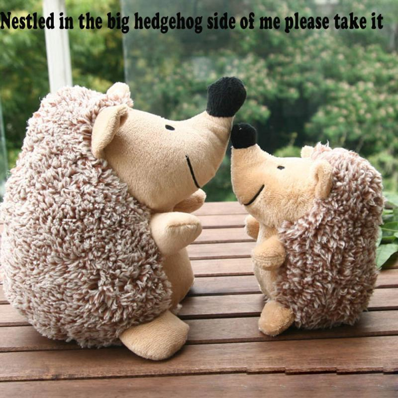 Hedgehog Toys Plush Toy Squeaky Hedgehog Squeaker Sound Cat Puppy IUNEED TOY Store