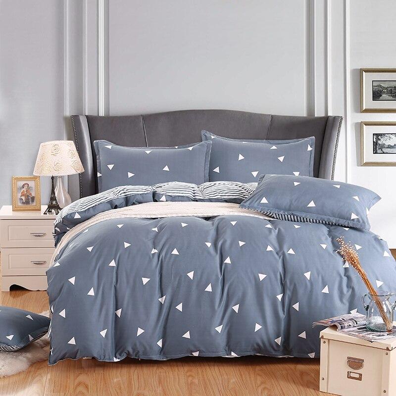 Free shipping FLOARL Print Bed Sheets 4pcs Bedding Set duvet cover set bedding