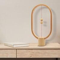 Прямая поставка Heng баланс ночник умная Светодиодная лампа USB зарядка украшения для домашнего интерьера спальни огни креативные рождествен...