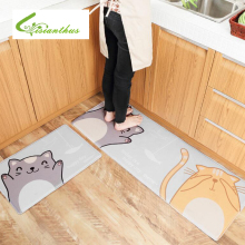 Cat Doormat Floor Mat Anti-slip Water Absorption Carpet Kitchen Mat Door Mat Cat Kids Room Carpet Toilet Tapete Rug Porch Mats