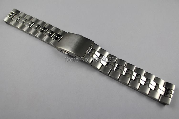 Prix pour 19mm T049417 T049407 T049410 modèles Masculins Montre Bande T-CLASSIC En Acier Inoxydable bande Pour T049