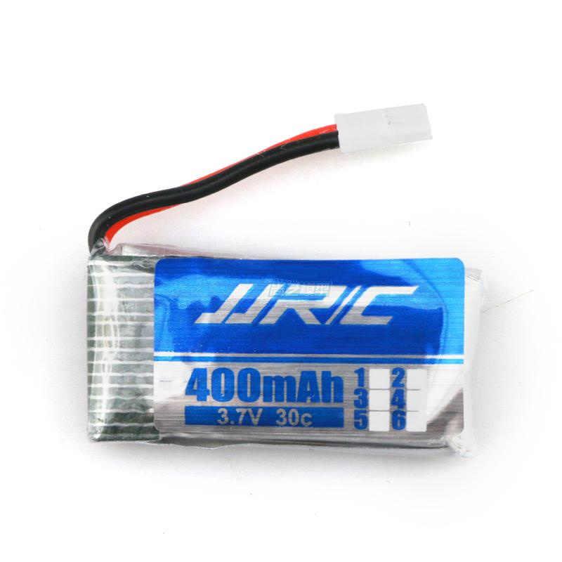 JJRC pièces de rechange 3.7 V 400 mah batterie d'origine H31-011 batterie Lipo H31 XH plug 30C