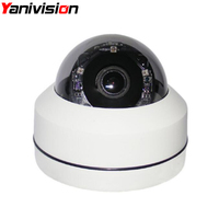 H.265 5MP 4X Optical Zoom 20m Night Vision Waterproof Outdoor Dome 2.5 Mini IP PTZ Camera ONVIF P2P IP66 Dome 1080P IP Camera