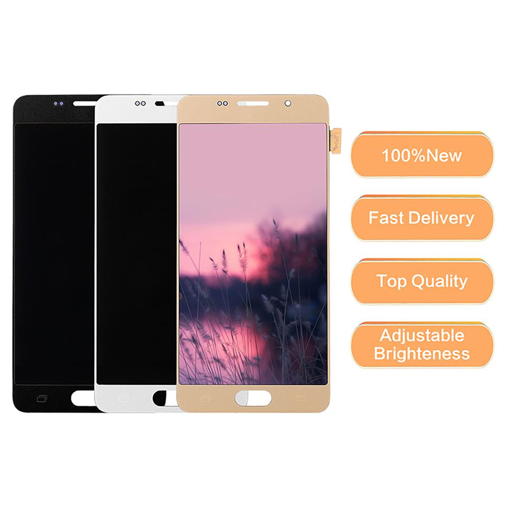 Für Samsung Galaxy A5 2016 LCDs Display <font><b>A510</b></font> SM-A510F A510M A510FD Hohe Qualität <font><b>LCD</b></font> Display mit Touch Screen Digitizer Montage image