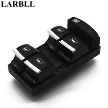 LARBLL New Chrome Master Window Switch For Audi A3 8P A4 S4 RS4 B6 B7 A6 S6 RS6 C6 Q7  4F0959851H 4d0411327g for audi a4 b6 b7 a6 r8 a8 rs4 rs6 for seat exeo 2009 2012 front stabilizer sway bar rubber bush mount 4d0 411 327 g