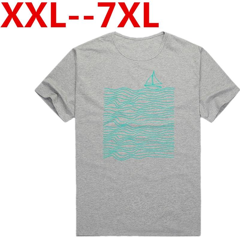 Plus big size 10XL 9XL 8XL 7XL 6XL 2016 New Arrival Fashion T shirt Summer Short