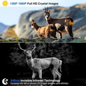"Image 5 - HC801A HC801M ציד שביל מצלמה אינפרא אדום 2G דוא""ל MMS תמונה מלכודות SMS ראיית לילה חיות בר Gsm מצלמה de chasse infrarouge"