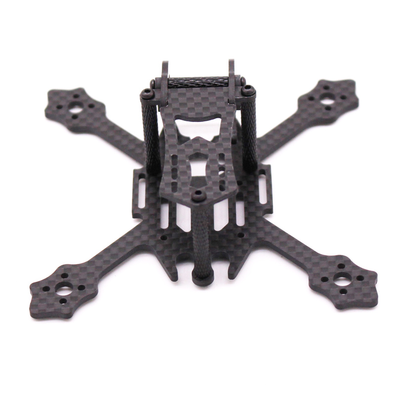 Image 4 - FSD Racing X100 100mm 2 inch Whoop Super light 3K Carbon fiber FPV frame RC drone for Gemfan 2036 prop F4 FC 11XX Motors EOS 2-in Parts & Accessories from Toys & Hobbies