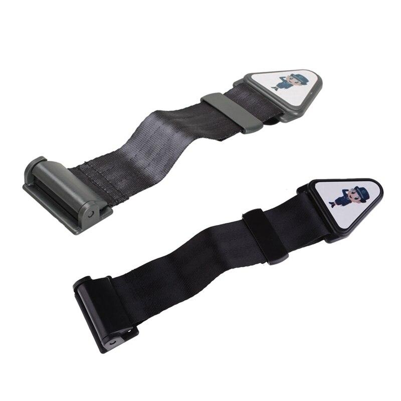 VODOOL Car Auto Seat Safety Belt Adjustable Lock Buckle Strap Vehicle Baby Children Kids Safe Protector Seat Belt Buckle Straps